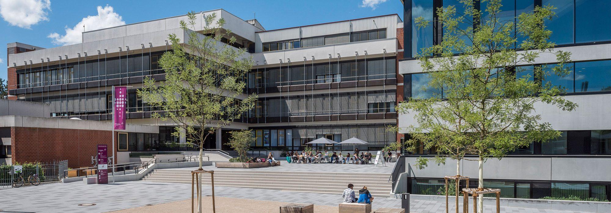 Campus der Evangelischen Hochschule Freiburg; Foto: Marc Doradzillo